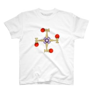 剣玉スピナー T-shirts