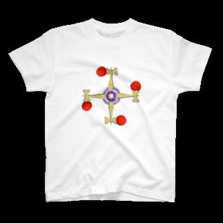 アズペイントの剣玉スピナー T-shirts