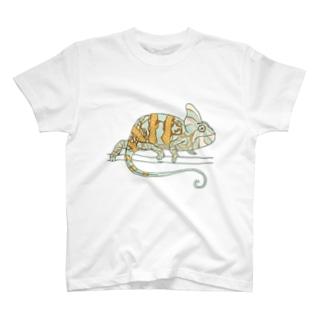カメレオン T-shirts