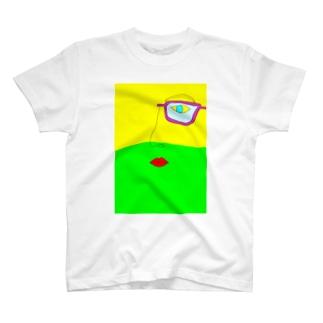 ワインと僕と君 T-shirts