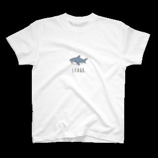 abeliaのサメくん T-shirts