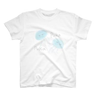 プカプカクラゲ T-shirts
