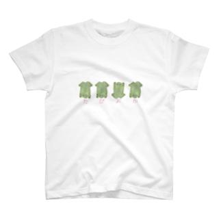 まるめたぴおかがえる T-shirts