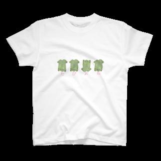 くおのまるめたぴおかがえる T-shirts