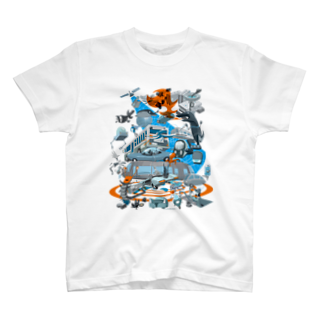 ohtematicのFast City T-shirts