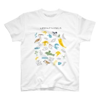 ヒガタかんさつにきました T-shirts