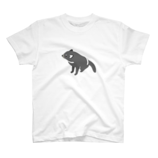 マネクラ/タスマニアンデビル(おすわり) T-shirts
