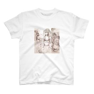 かのじょまでの習作 T-shirts