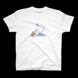 egu shopのhydration fuji T-shirts