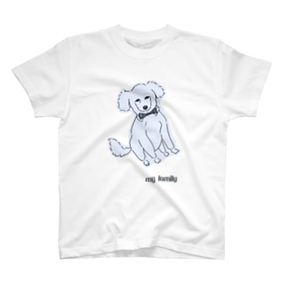 トイプードルはmy family! T-shirts