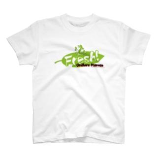 Fresh!ロゴ T-shirts