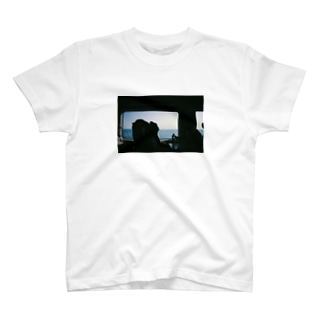 sea side train  T-shirts