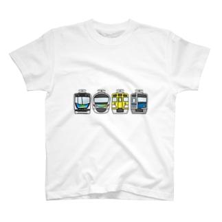 西武線4兄弟 T-shirts