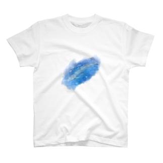 シロナガスクジラ T-shirts