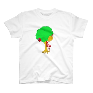 ぼくと大木 T-shirts