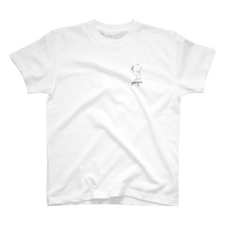 横顔girl T-shirts