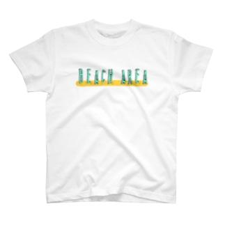 BEACH AREA T-shirts