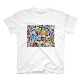 海のセンリツ T-shirts