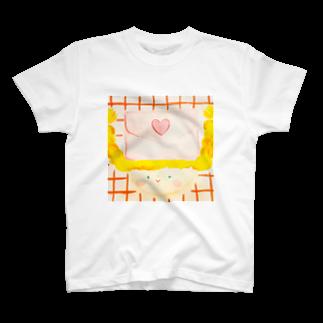 maki shidaのLOVELetter ♡ T-shirts