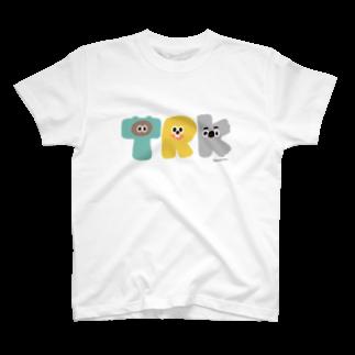 たぬきゅんショップのTRK T-shirts