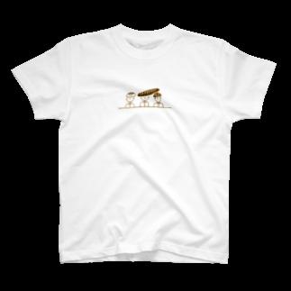 れなの『パン三兄弟』 T-shirts
