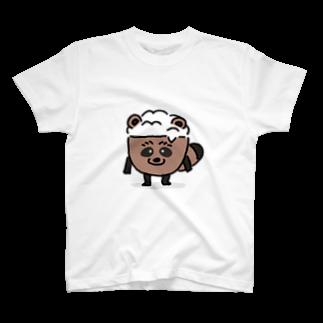 めしやのたぬめしくん T-shirts