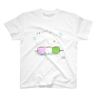 3色にゃんご T-shirts