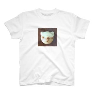 くまちゃんクリームパン T-shirts