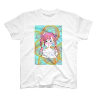 星座シリーズ★かに座 T-shirts