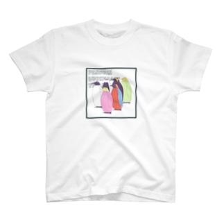 ペンギンの護衛チーム T-shirts