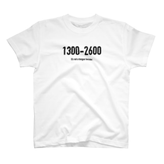 POINTS 1300-2600 T-shirts