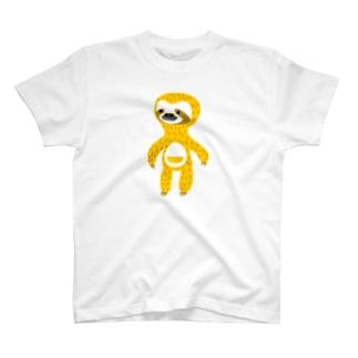 ナマケモノのヨシオくん T-shirts
