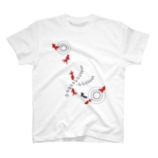 金魚01 T-shirts