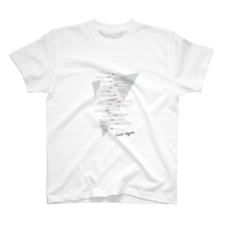 wlmのLET'S STICKS T-shirts