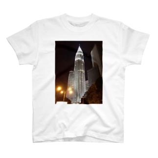 ペトロナスツインタワー T-shirts