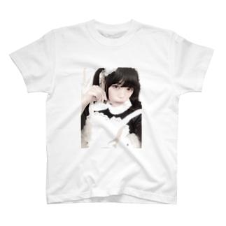少女・亞 T-shirts