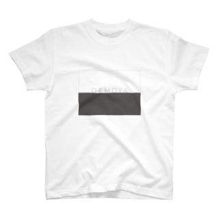 DEMOYAグレーロゴ T-shirts