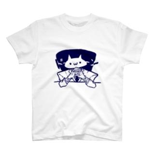スーツねこさん T-shirts