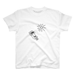 日焼け中 T-shirts