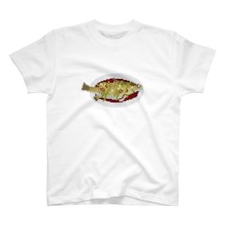 スチームドフィッシュ T-shirts