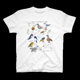 Chorob0のワタリドリをさがしています T-shirts