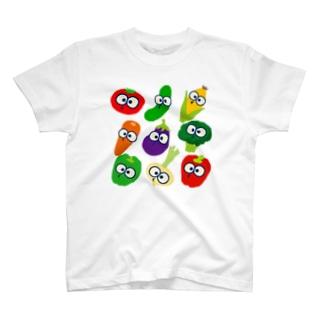 ベジちゃんず T-shirts