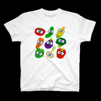 マイケルヨシバのベジちゃんず T-shirts