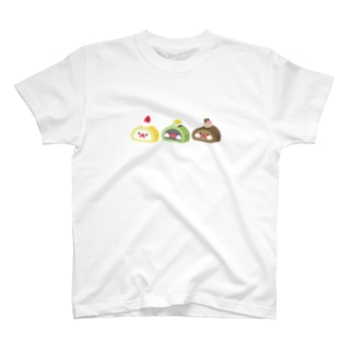 文鳥ロール T-shirts