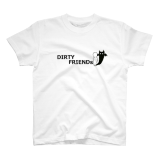 DIRTY FRIENDsのDIRTY FRIENDsロゴTシャツ T-shirts