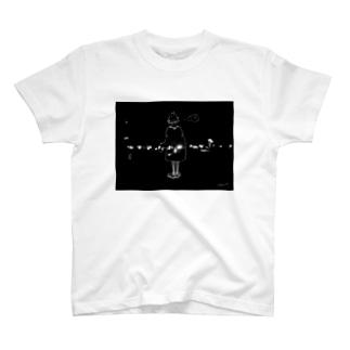 私の窓の景色Tシャツ T-shirts