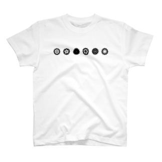 LINED GEAR_Black T-shirts
