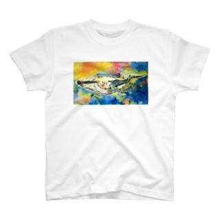 泣きクジラ T-shirts