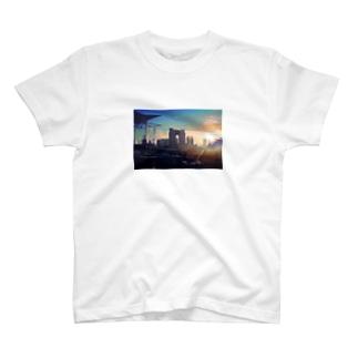 東京夕陽 T-shirts