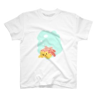 ひよことオニヒトデ T-shirts